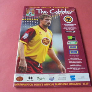 2011/12 NORTHAMPTON V WOLVES LEAGUE CUP