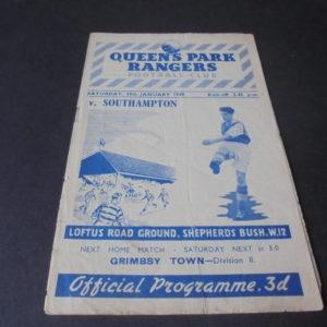 1948/49 QPR V SOUTHAMPTON
