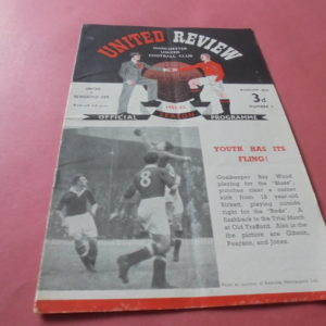1951/52 MAN UTD V NEWCASTLE