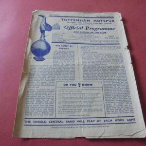 1950/51 TOTTENHAM v CHELSEA
