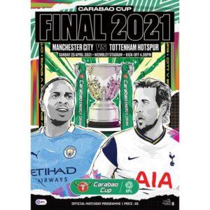 2021 MAN CITY v TOTTENHAM CARABAO CUP FINAL