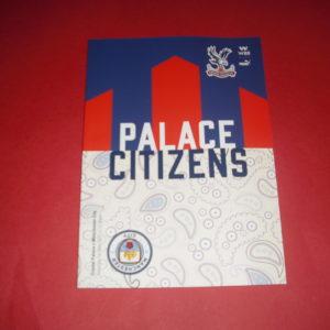 2020/21 CRYSTAL PALACE V MAN CITY