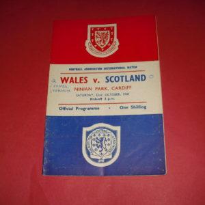 1960 WALES V SCOTLAND