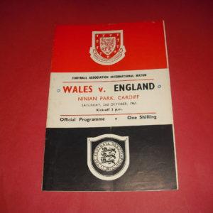 1965 WALES V ENGLAND