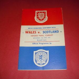 1971 WALES V SCOTLAND