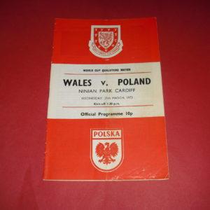 1973 WALES V POLAND