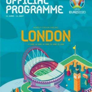 2020 EURO TOURNAMENT PROGRAMME LONDON EDITION (free postage)