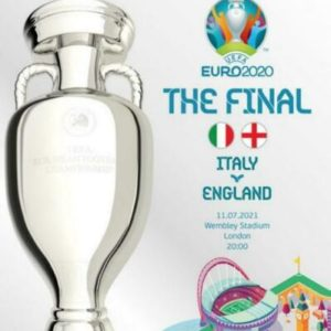 2020 EURO FINAL ITALY v ENGLAND (free postage)