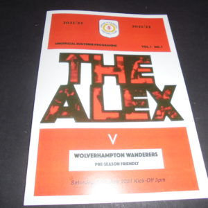 2021/22 CREWE v WOLVES FRIENDLY (PIRATE)