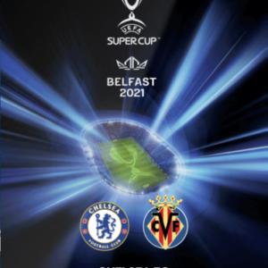 2021 UEFA SUPER CUP CHELSEA v VILLARREAL (FREE POSTAGE ) IN STOCK